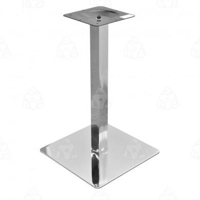 Podstawa stołu kwadratowa H -730 inox poler