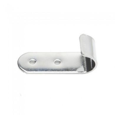 Uchwyt pionowy do rury 25 mm TR521-0-CHR