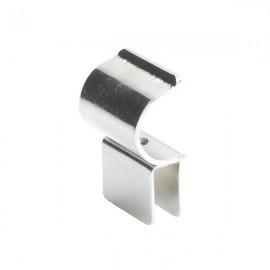 Uchwyt do szkła o grubości 6 mm do rury 25 mm TR523-C-CHR