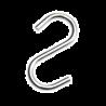 SHOP-LINE Haczyk do rury 25 mm chromowany AC506-0-CHR