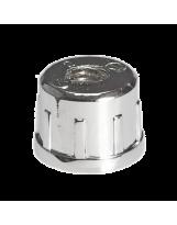 Wkładka z gwintem metalowym M-10 do rury chrom
