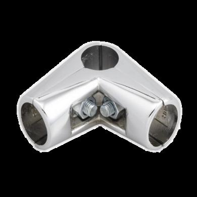 SHOP-LINE Złącze dwuramienne do rury 25 mm chromowane TR579-0-CHR