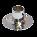 SHOP-LINE Końcówka mocująca do rury 25 mm wysoka stal chromowana AC510-D-CHR