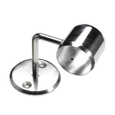 SHOP-LINE Uchwyt dystansowy do rury 25 mm gięty chromowany AC931-0-CHR