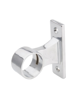 Uchwyt dystansowy rury 25 mm przelotowy chromowany dystans 30 mm