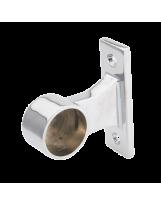 Uchwyt dystansowy rury 25 mm końcowy chromowany dystans 30 mm