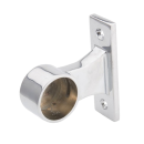 SHOP-LINE Uchwyt dystansowy rury 32 mm końcowy chromowany dystans 30 mm AC997-A-CHR