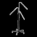 SHOP-LINE Stender - wieszak trzyramienny chromowany 110-185 cm ST3707-E-CHR