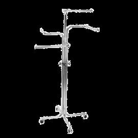 SHOP-LINE Stender - wieszak czteroramienny chromowany 110-180 cm ST3708-0-CHR