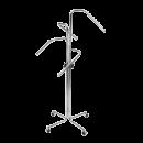 SHOP-LINE Stender - wieszak czteroramienny chromowany 110-180 cm ST3711-0-CHR