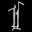 SHOP-LINE Stender - wieszak czteroramienny chromowany 110-180 cm ST3714-E-CHR