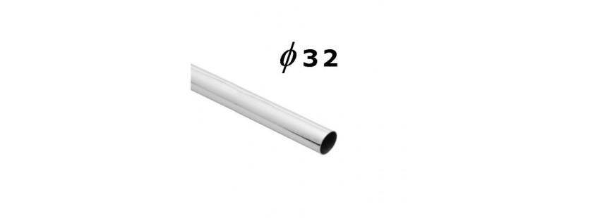 Słupki i uchwyty 32 mm