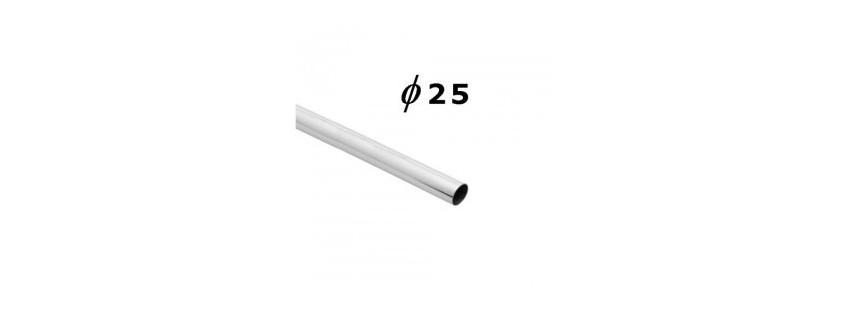 Poprzeczki i akcesoria 25 mm