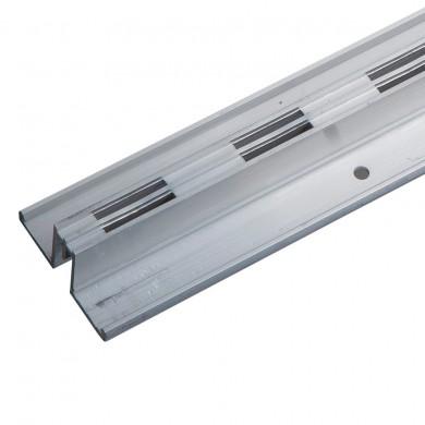 Noga - profil podwójny środkowy L-240 aluminium