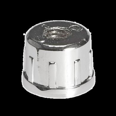 SHOP-LINE Wkładka z gwintem metalowym M-10 do rury chrom