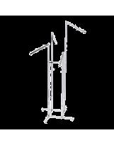 Stender - wieszak czteroramienny chromowany 110-180 cm