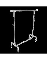SHOP-LINE Transporter z regulowaną wysokością z rury 28 mm chromowany ST3718-0-CHR